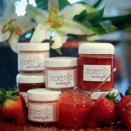 strawberry scrub _ mask